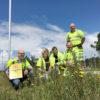 Arets pollinator 2017 Trafikverket