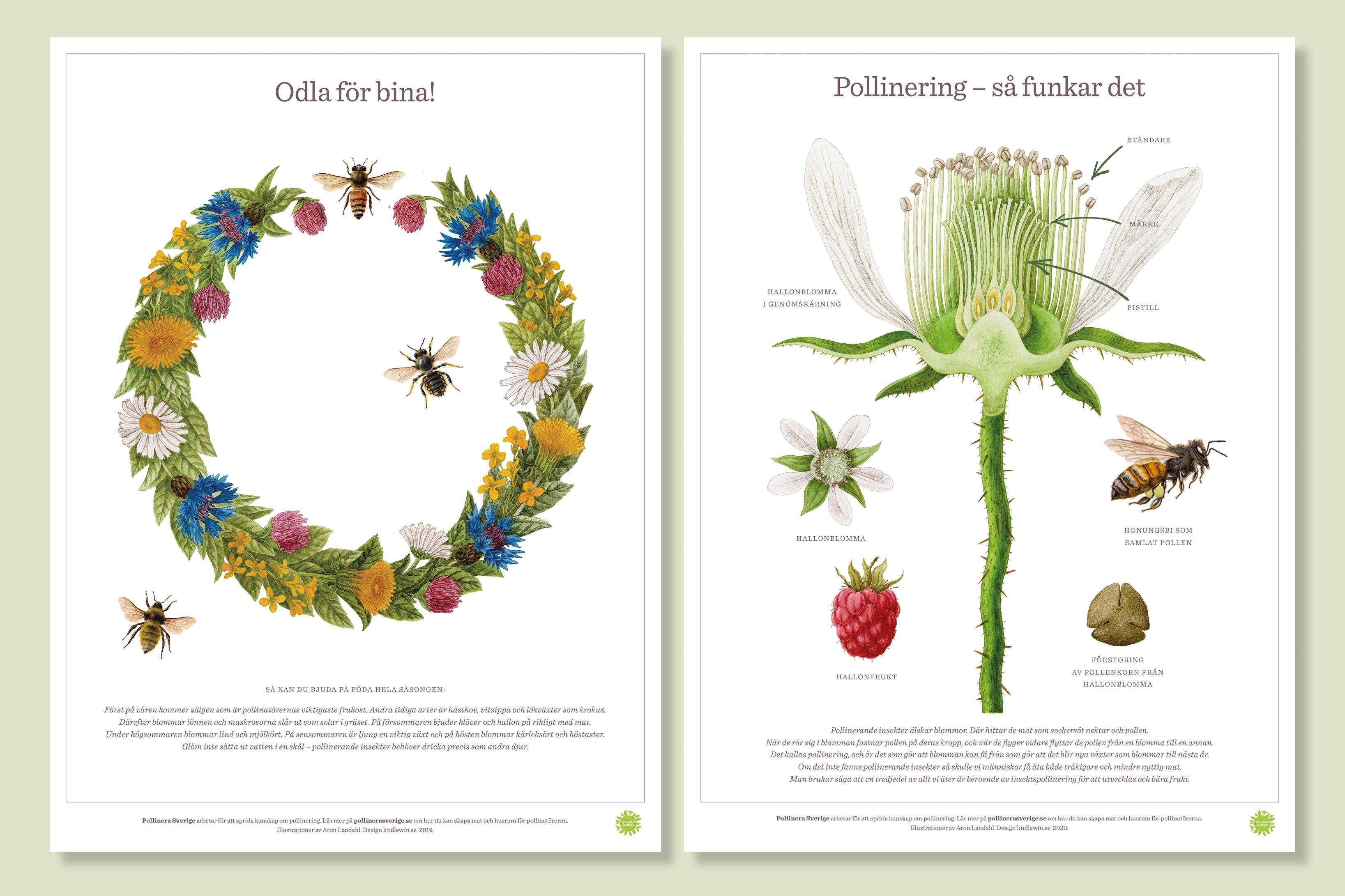 world bee day affischer